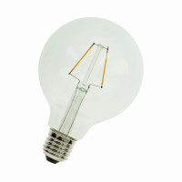 Bailey LED-Filament LED Filament Globe G95 Klar E27 2W 2700K