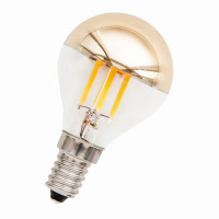 Bailey LED Filament Mirror Tropfen G45 Kuppenverspiegelt Gold E14 3W 2700K Dimmbar Preview