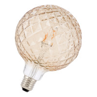Bailey LED Filament Pine Globe G125 Gold E27 3W 2200K Dimmbar