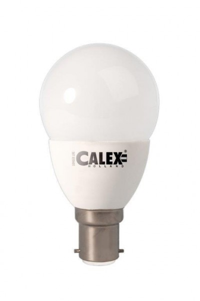 Calex LED Ball lamp 240V 4.5W 330lm Ba15d P45