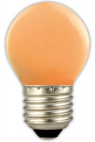 Calex LED Coloured Spherical Lampe orange | E27 |1W | 12lm | 2700K Preview