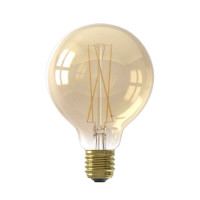 Calex LED-Filament LED Glas Long Filament Globe Lampe Gold | 6W | 430lm | 2100K | dimmbar Preview