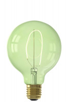 Calex LED-Filament NORA G95 LED-Lampe Emerald Green | 4W | 150lm | 2000K | dimmbar Preview
