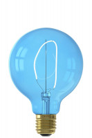 Calex LED-Filament NORA G95 LED-Lampe Sapphire Blue | 4W | 150lm | 2000K | dimmbar Preview