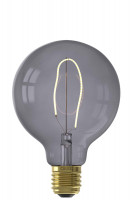 Calex LED-Filament NORA G95 LED-Lampe Topaz Grey | 4W | 150lm | 2000K | dimmbar Preview