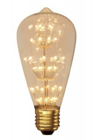 Calex LED Rustic Lampe Pearl | E27 | 3W | 280lm | 2100K Preview