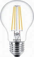Philips Classic LEDbulb 8W A60 E27 827 | ersetzt 60W | LED-Lampe in Glühlampenform