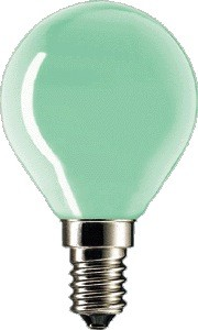 Philips TROPFEN 15W/230V E14green